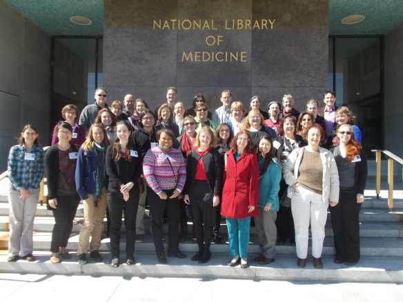 Librarian's Guide 2015 class photo