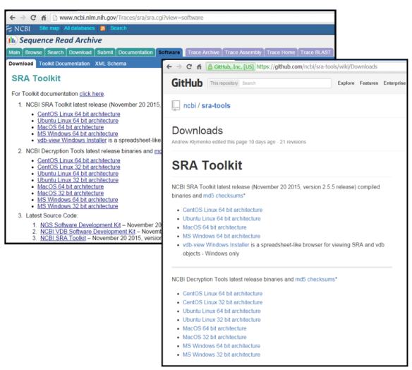 NCBI Insights : SRA Toolkit: the SRA database at your fingertips