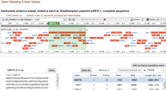 Fast Sequence Inspection with ORFfinder + SmartBLAST | NCBI Insights
