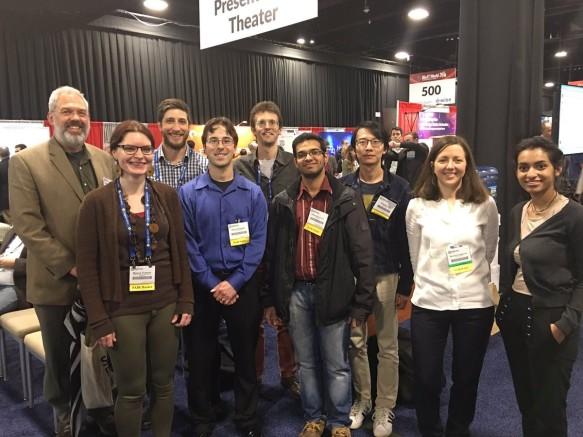 Participants in the 2017 Bio-IT Hackathon