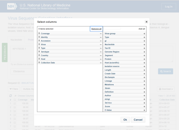 NCBI Insights : Introducing the new Virus Sequence Search